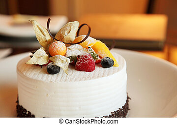 Hotel Cake in a Cooking Baking Course Class