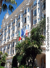 hotel, cannes, luxuoso