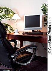 hotel, computerzimmer