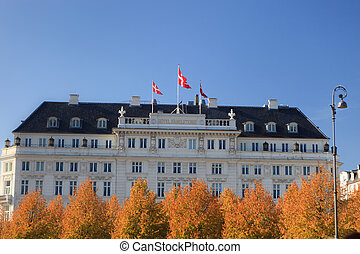 Hotel D'Angleterre - Famous Hotel D'Angleterre in Copenhagen...