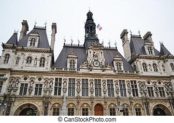 Hotel de Ville in Paris