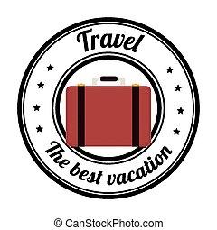 Hotel design, vector illustration.