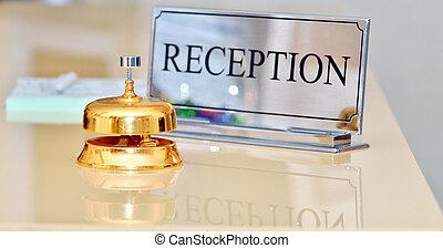hotel, dzwon