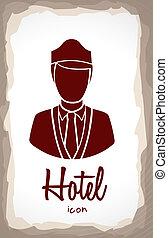 hotel, etikett