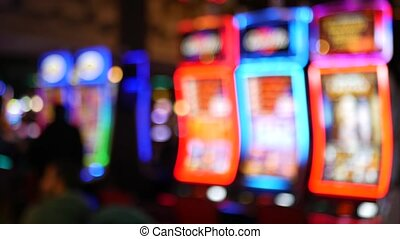 hotel, geld, kasino, verwischt, streifen, fremont, wetten, ...