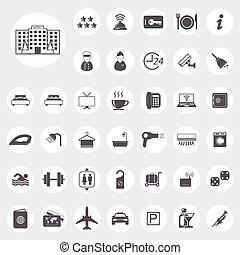 hotel, iconerne
