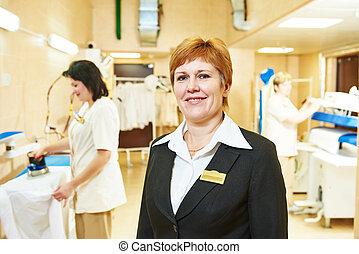 Hotel linen service