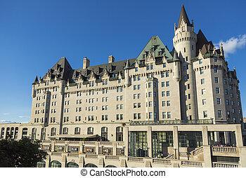 hotel, luxo, ottawa
