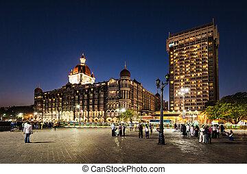 hotel, mahal, taj, palacio