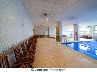 hotel, natação, spa, piscina