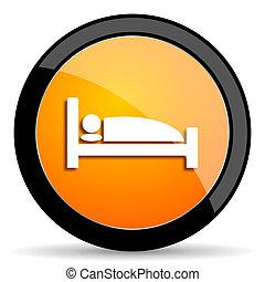 hotel orange icon