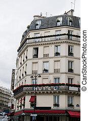 hotel paris, típico, frança