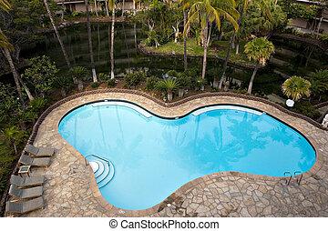 hotel recurso, piscina, natação