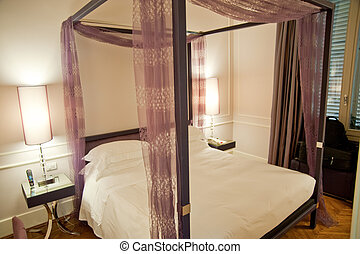 Hotel room in Florence, Italy