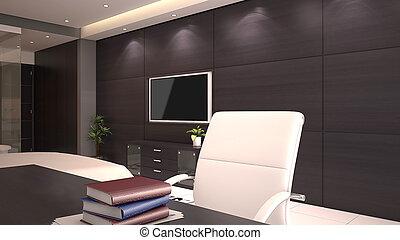 Hotel Room Office Desk