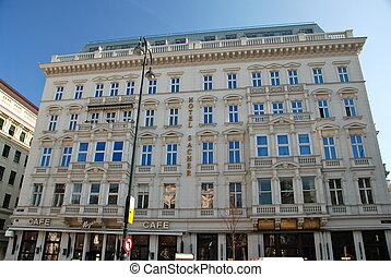 hotel, sacher, wiedeń