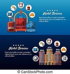 hotel service building - hotel service brochure advertising ...