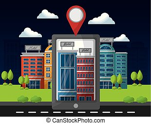 hotel service building - smartphone application hotel ...
