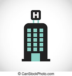 hotel service design, vector illustration eps10 graphic