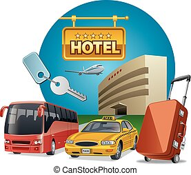 hotel services and transport