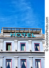 hotel sign 04