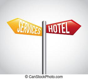 hotel, tervezés