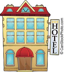 Hotel theme image 1 - eps10 vector illustration.