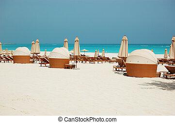 hotel, uae, lujo, dhabi, playa, abu