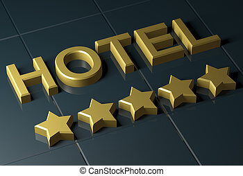 hotel with five star