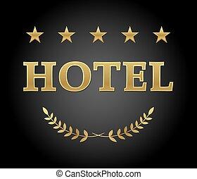 hotel, zeichen