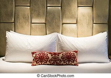 hotelkamer, bed, nacht