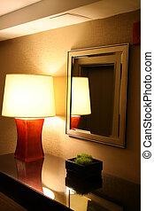 hotell, nymodig rum