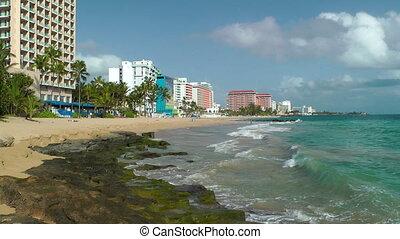 Condado Beach - Hotels along Condado Beach in San Juan,...