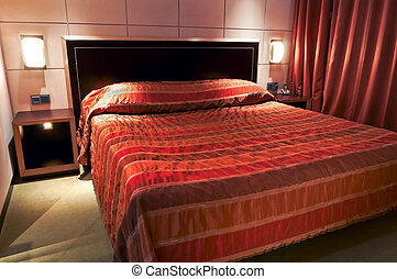 hotel`s bed