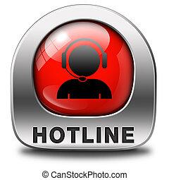 Live chat helpline