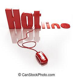 hotline, online