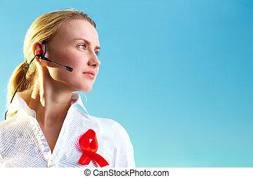 hotline, recepcionista