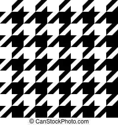 houndstooth, mönster