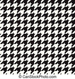 Houndstooth Pattern - Seamless houndstooth pattern.