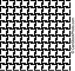 Houndstooth Pattern - Trendy houndstooth pattern that tiles...