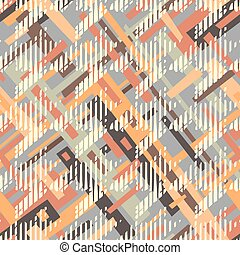 Houndstooth seamless pattern for clothes design.Trendy fabric abstract print