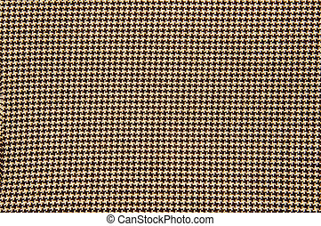 houndstooth textile - close up of a houndstooth pattern...