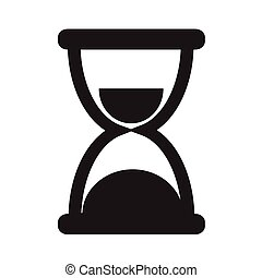 Hourglass Icon Illustration design