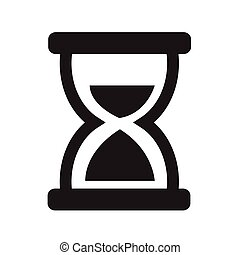 Hourglass icon vector illustration