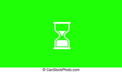 Hourglass Loading Cursor animation.loop animation.