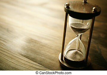 hourglass - time concept, selective focus point, special ...