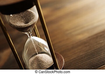 hourglass - time concept, selective phocus point, special ...