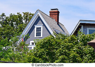 House 2 - A pretty house on a sunny day in Provincetown,...