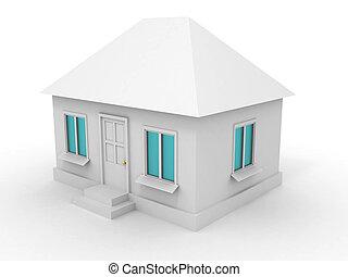 House. 3d