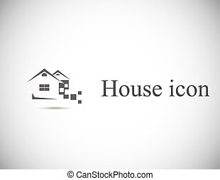 House abstract real estate